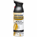 Rust-Oleum 271473 Metallic Spray Paint, Soft Iron, 11-oz.