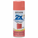 Rust-Oleum 283189 Painters Touch 2X Spray Paint, Gloss Coral, 12-oz.