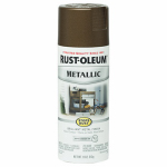 Rust-Oleum 286525 Metallic Spray Paint, Dark Copper, 11-oz.