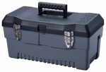 Stack On Products PB-19 Professional Tool Box, Black/Gray, 19-In.