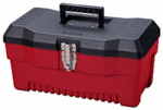 Stack On Products PR-16 Multi-Purpose Tool Box, Black/Red, 16-In.
