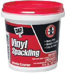 Dap 12130 DAP 1/2-Pint Vinyl Spackling Paste