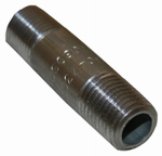 Larsen Supply 32-1605 1/4x2 Stainless Steel Pipe Nipple