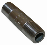 Larsen Supply 32-1609 1/4x3 Stainless Steel Pipe Nipple