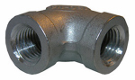 "Larsen Supply 32-2201 1/8"" Stainless Steel 90 DEG Elbow"