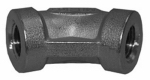 "Larsen Supply 32-2303 1/4""SS 45DEG Pipe Elbow"