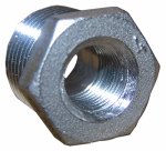 Larsen Supply 32-2707 1/2x3/8 Stainless Steel Hex Bushing