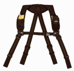 Custom Leathercraft DG5132 Heavy-Duty Yoke-Style Suspenders