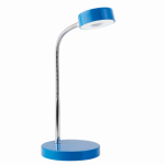 Globe Electric 12645 LED Desk Lamp, Blue