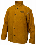 Lincoln Electric KH807XXL Leather Welding Jacket, XXL