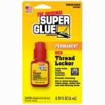 Super Glue Corp/Pacer Tech 15191 Thread Locker, Red, 6-ml.