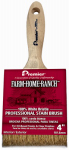 Premier Paint Roller/Z Pro FHR00144 Farm/Ranch Pro Stain Brush, 4-In.