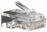 Audiovox TPH054R 4PK Cat5 Connector Plug