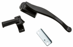 National Mfg/Spectrum Brands Hhi N100-034 Lift Lever Latch, Black