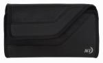 Nite Ize CCS2L-01-R3 Universal Sideways Phone Clip Case, Black,  2XL