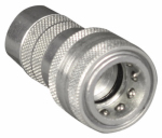 Apache Hose & Belting 39040990 Hydraulic Hose Connector, 3000 PSI, .5-In.