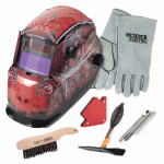 Lincoln Electric KH961 Auto-Darkening Welding Helmet Kit