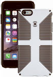 Petra Industries 73425-1909 iPhone Case, CandyShell Grip Series, White & Black