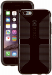 Petra Industries 73425-B565 iPhone Case, CandyShell Grip Series, Black & Slate Gray