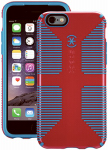 Petra Industries 73425-C064 iPhone Case, CandyShell Grip Series, Lipstick Pink & Jay Blue