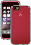 Petra Industries 73801-C106 iPhone Case, MightyShell Series, Fuchsia Pink & Gray