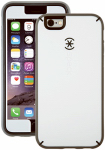 Petra Industries 73801-C118 iPhone Case, MightyShell Series, White & Gray