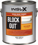 Benjamin Moore & Co-Insl-X TB1100099-01 GAL WHT BLCK Outdoor or Outer Primer