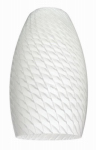 "Westinghouse Lighting 85724 2 1/4"" Lunar Weave Long Shade"