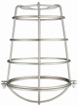Westinghouse Lighting 85031 Brushed Nickel Cage Shade with Closed Bottom.