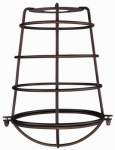 Westinghouse Lighting 85033 Oil Rubbed Bronze Cage Shade with Closed Bottom.