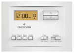 White-Rodgers Division P150 Thermostat, 5-2 Programmable, Single Stage