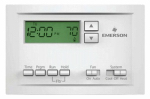 White-Rodgers Division P210 Thermostat, 5-1-1 Programmable, Single Stage