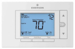 White-Rodgers Division UP310 Universal Thermostat, 7-Day Programmable