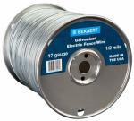 Bekaert 118244 17-Gauge Electric Fence Wire, 2640-Ft.