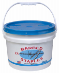 Bekaert 187260 8-Gauge Fence Staples, 1.75-In., 50-Lb. Bucket