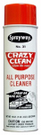 Sprayway SW031 Crazy Clean All-Purpose Cleaner, Aerosol, 19-oz.