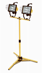 Southwire/Coleman Cable L13TV Work Light, Adjustable Stand, 1,000-Watts