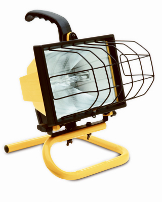 L20TV Halogen Work Light, Portable, 500-Watts - Quantity 12