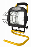 Southwire/Coleman Cable L33YJ Halogen Work Light, Portable, 500-Watts
