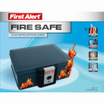 First Alert Brk 2011F Fire Protector Chest, 0.17-Cu. Ft.