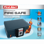 First Alert Brk 2013F Fire & Waterproof Safe, 0.17-Cu. Ft.