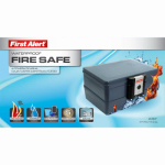 First Alert Brk 2030F Fire & Water Chest, 0.39-Cu. Ft.