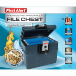 First Alert Brk 2037F Fire & Waterproof Hanging File Chest Safe, 0.62-Cu. Ft.