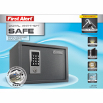 First Alert Brk 2073F Anti-Theft Digital Safe, 0.62-Cu. Ft.