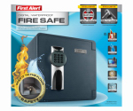 First Alert Brk 2092DF-BD Waterproof & Fireproof Digital Safe, 1.32-Cu. Ft.
