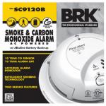 First Alert Brk SC9120B Smoke/CO Alarm, AC/DC