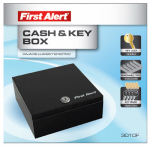 First Alert Brk 3010F Cash & Key Box, Steel, .1-Cu. Ft.