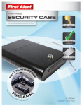 First Alert Brk 5100K Portable Security / Firearm Safe