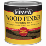 Minwax The 227184444 1/2-Pint Ebony Wood Finish