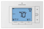 White-Rodgers Division UNP310 Universal Thermostat, Non-Programmable